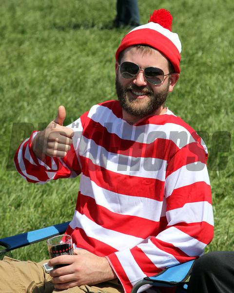 Where's Waldo Churchill Downs Chad B. Harmon