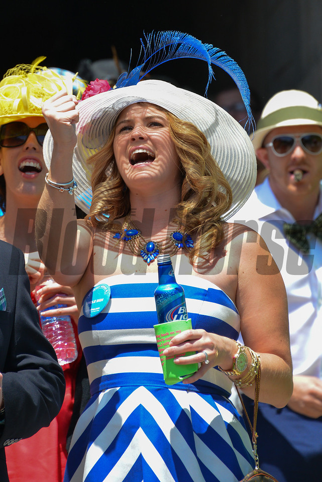 Scenes from the 2014 Kentucky Derby
