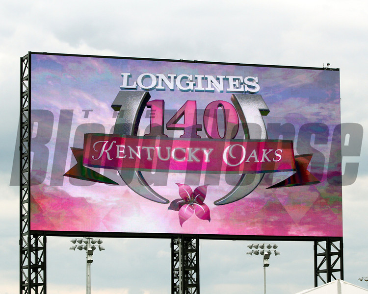 Big Board Kentucky Oaks 2014 Churchill Downs Chad B. Harmon