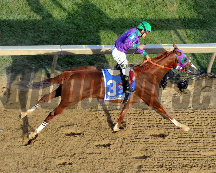 California Chrome Preakness Chad B. Harmon