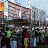 Caption: infield food tents<br /> Scenes at Pimlico  in Baltimore, Md., on May 17, 2014.<br /> Scenes2  image237<br /> Photo by Anne M. Eberhardt