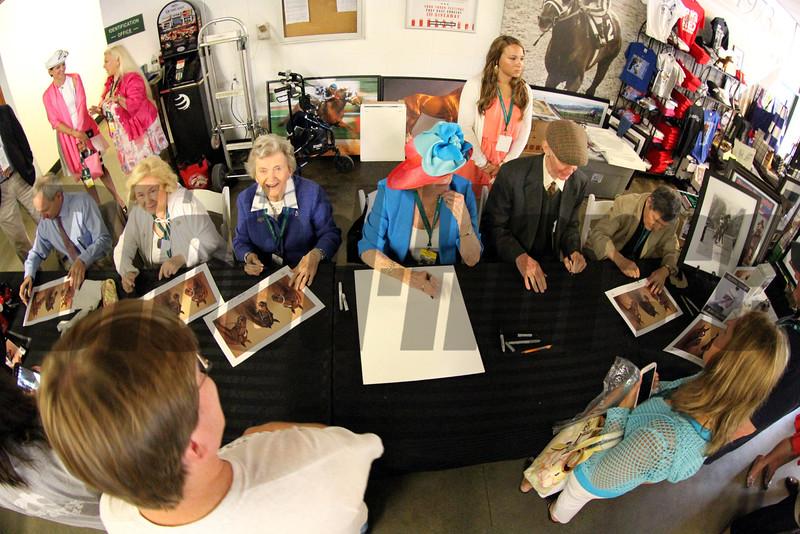 Triple Crown Autograph Signing Chad B. Harmon