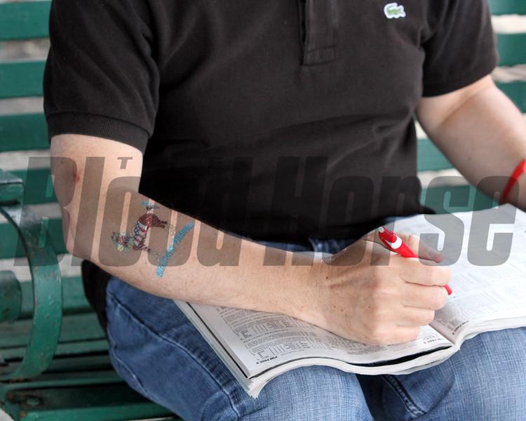 American Pharoah Tattoo Chad B. Harmon