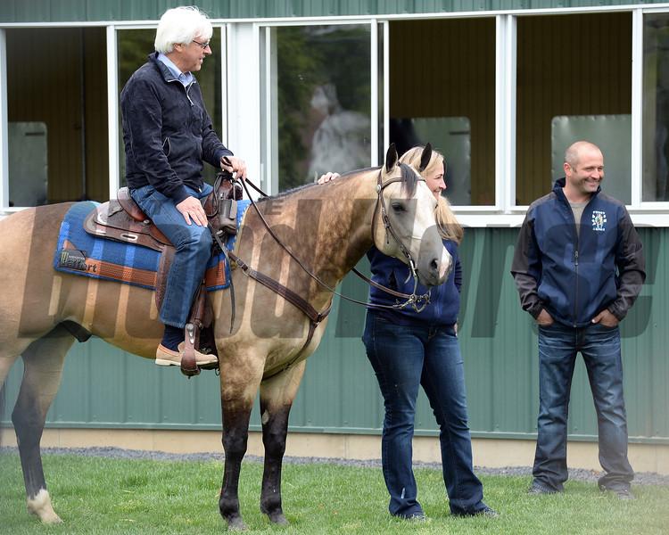 Bob Baffert and Smokey<br /> Coglianese Photos/Susie Raisher