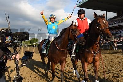 Belmont Stakes winner American Pharoah. Coglianese Photos