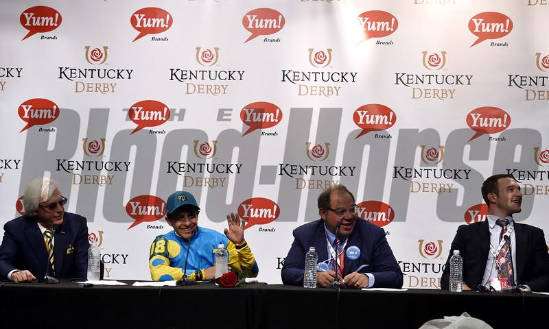Kentucky Derby Press Conference<br /> Dave Harmon Photo