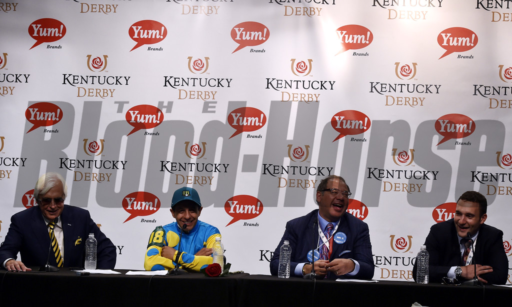 Kentucky Derby Press Conference<br /> Dave Harmon Photo