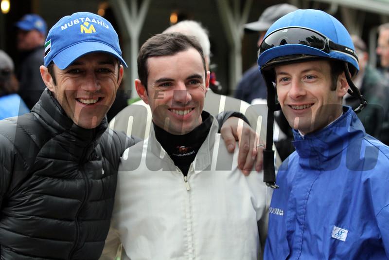 French Jockeys Churchill Downs Chad B. Harmon