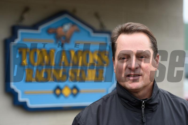 Trainer Tom Amoss.  Photo by Skip Dickstein