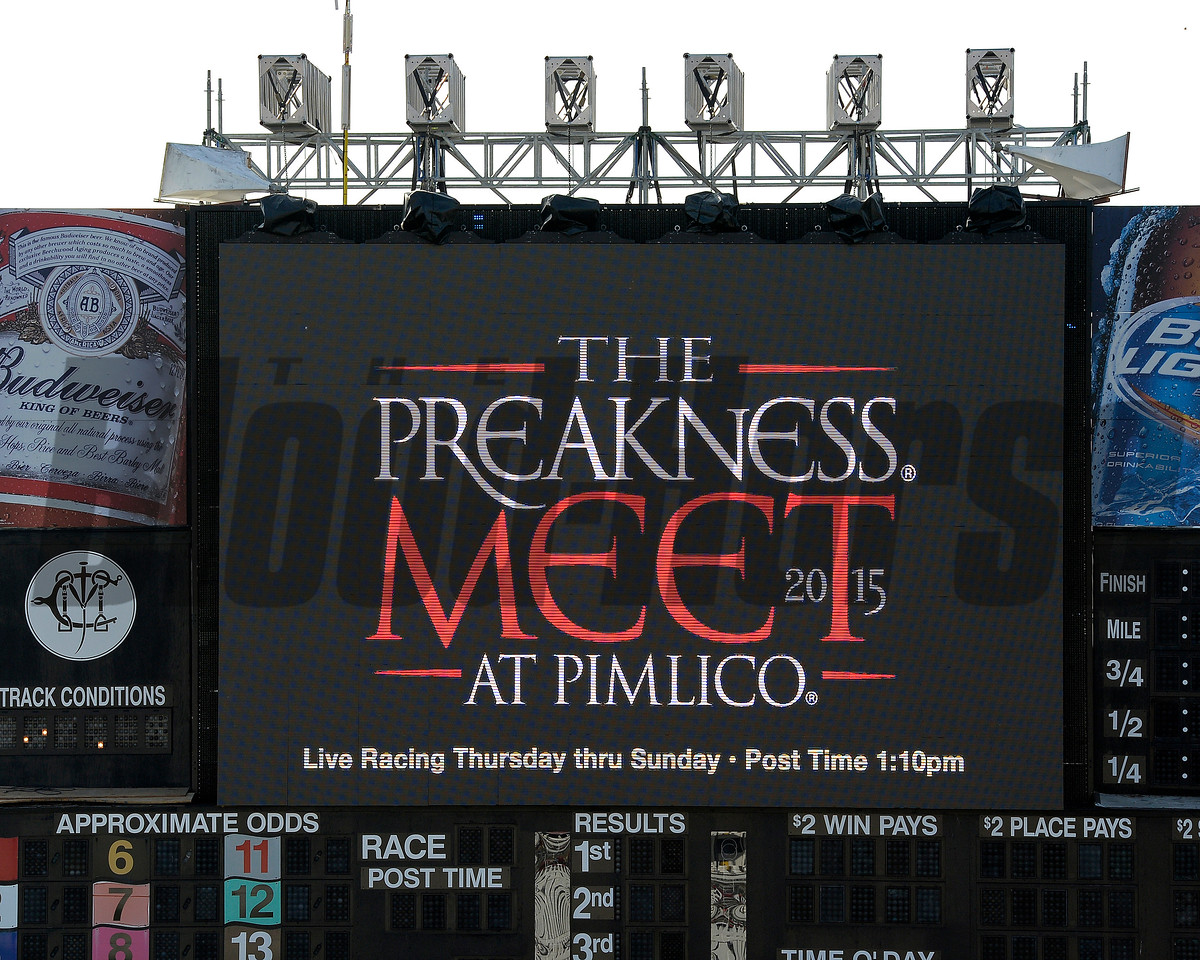 Preakness Sign