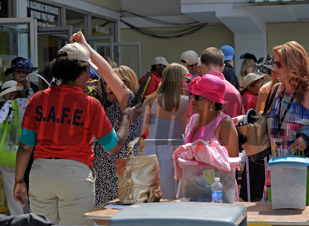 Caption:  <br /> Preakness day on May 15, 2015, at Pimlico in Baltimore, Md.<br /> Scenes4Sat image643<br /> Photo by Anne M. Eberhardt