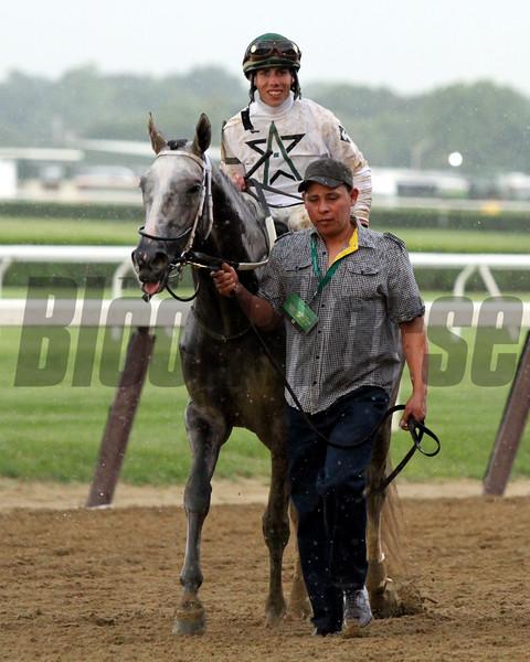 Creator Irad Ortiz Jr. Belmont Stakes Chad B. Harmon