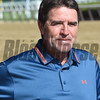 Keith Desormeaux at Belmont Park June 7, 2016<br /> Coglianese Photos