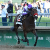 Nyquist wins the 142nd running of the Kentucky Derby May 7, 2016 at Churchill Downs in Louisville, KY.  Photo by Skip Dickstein