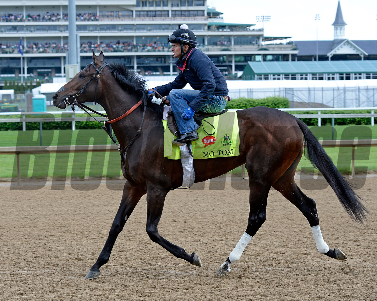Mo Tom<br /> Works at Churchill Downs on May 5, 2016, in Louisville, Ky.
