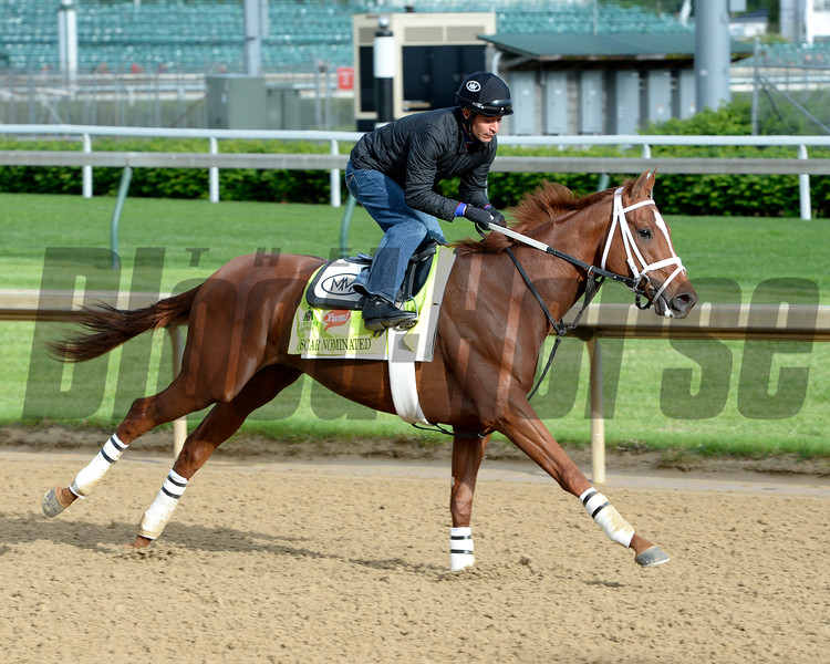 Oscar Nominated.<br /> Works at Churchill Downs on May 5, 2016, in Louisville, Ky.