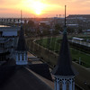 Churchill Downs Sunrise Chad B. Harmon
