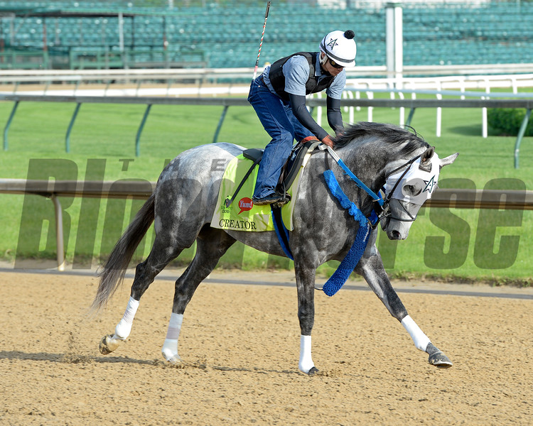 Creator works<br /> Works at Churchill Downs on May 2, 2016, in Louisville, Ky.