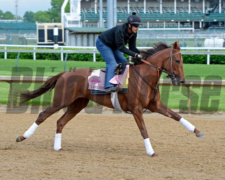 Land Over Sea<br /> Works at Churchill Downs on May 4, 2016, in Louisville, Ky.
