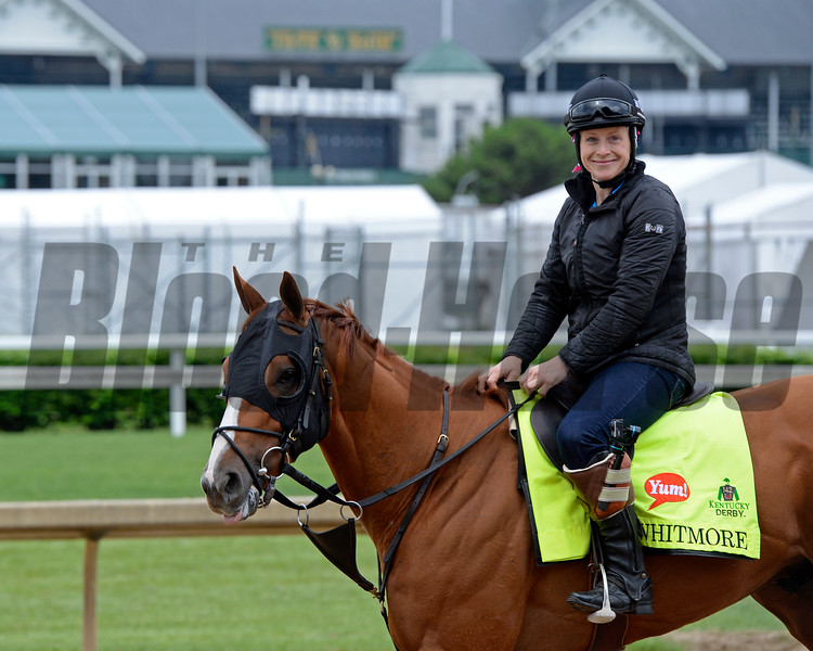 Whitmore<br /> Works at Churchill Downs on May 3, 2016, in Louisville, Ky.