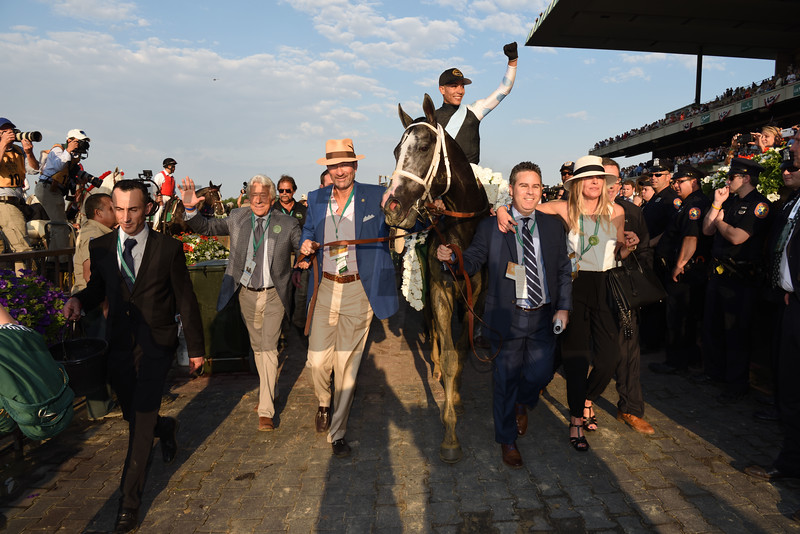 Tapwrit wins the 2017 Belmont Stakes<br /> Coglianese Photos
