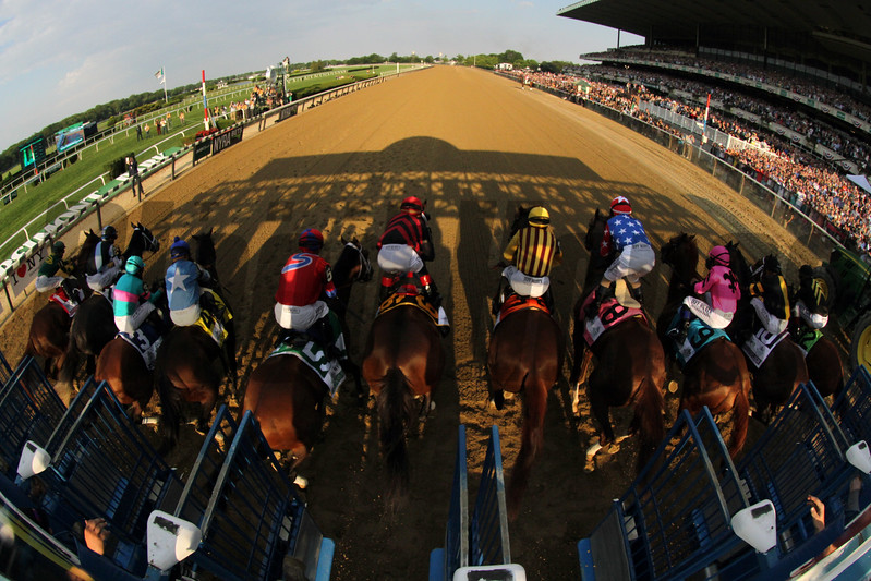Belmont Stakes Starting Gate Remote Chad B. Harmon