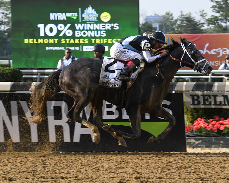 Tapwrit wins the 2017 Belmont Stakes<br /> Coglianese Photos/Viola Jasko