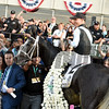 Tapwrit wins the 2017 Belmont Stakes<br /> Dave Harmon Photo