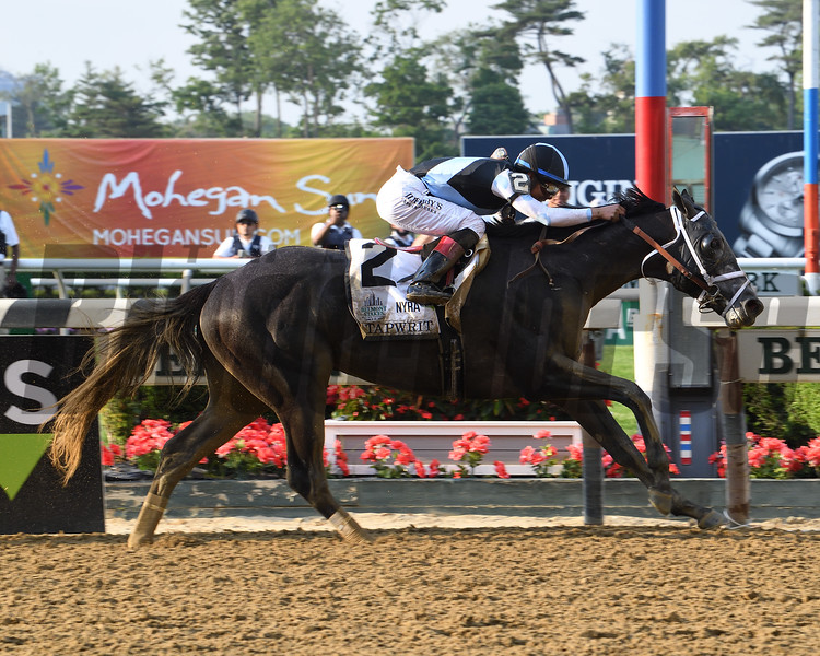 Tapwrit wins the 2017 Belmont Stakes<br /> Coglianese Photos/Viola Jasko