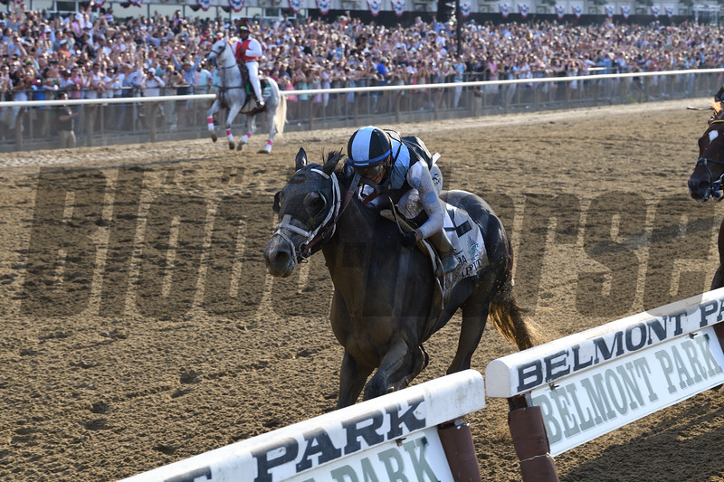 Tapwrit wins the 2017 Belmont Stakes<br /> Coglianese Photos/Chelsea Durand