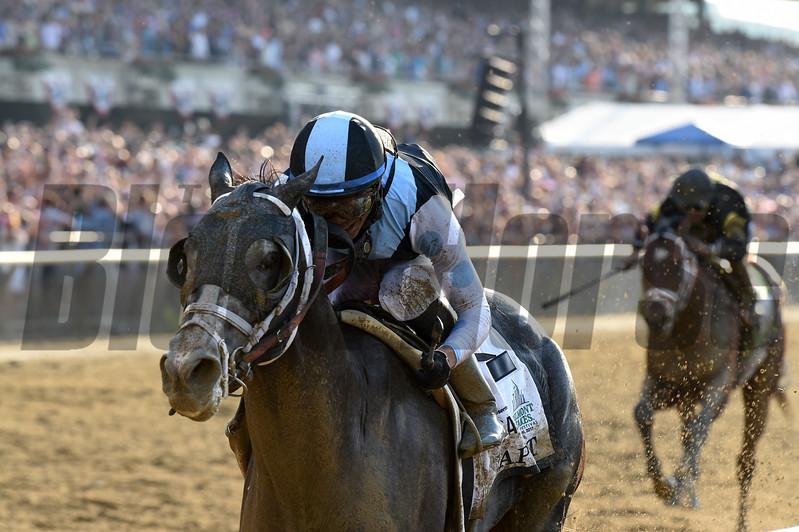 Tapwrit wins the 2017 Belmont Stakes<br /> Coglianese Photos/Adam Mooshian