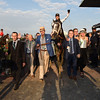 Tapwrit; Jose Ortiz; Todd Pletcher; Belmont Stakes; Winner's Circle; Belmont Park; June 10 2017