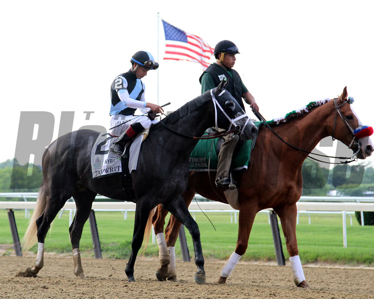 Tapwrit Post Parade Belmont Stakes Chad B. Harmon