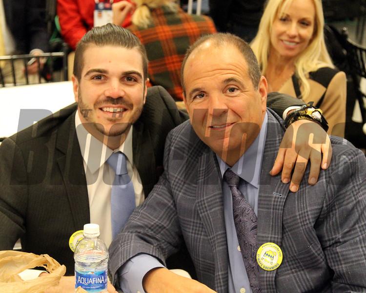 Anthony Bonomo Sr. & Anthony Bonomo Jr. Kentucky Derby Draw
