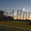Beautiful sunrise at Churchill Downs May 3, 2017 in Louisville, KY.  Photo by Skip Dickstein