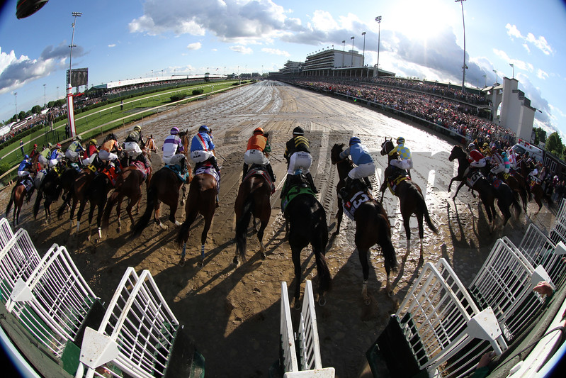Kentucky Derby Starting Gate Remote