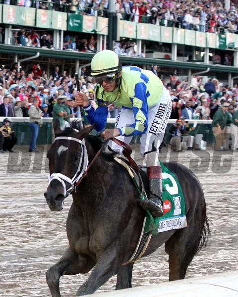 Always Dreaming John Velazquez Kentucky Derby Chad B. Harmon