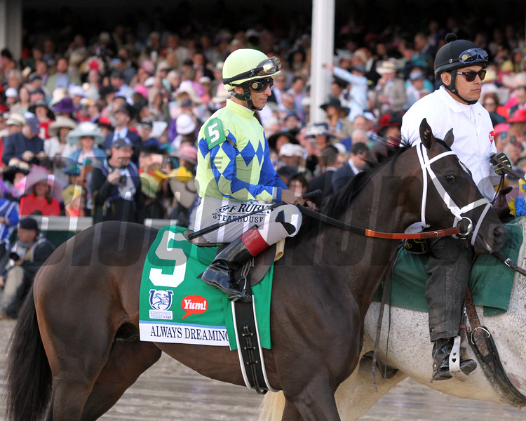 Always Dreaming Post Parade Kentucky Derby Chad B. Harmon