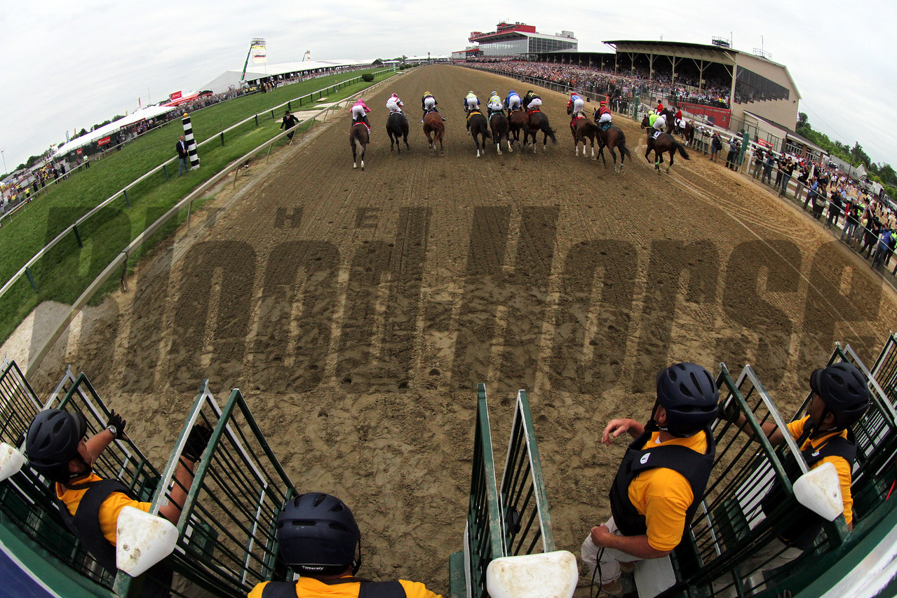 Preakness Starting Gate Remote Chad B. Harmon