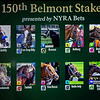 Posts positions set for Belmont Stakes Tuesday June 5, 2018 in New York, New York Photo by Skip Dickstein