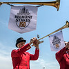 Trumpeters play the Call to the Post at Belmont Park on Belmont Stakes Day 150 in Elmont, N.Y.  Photo by Skip Dickstein
