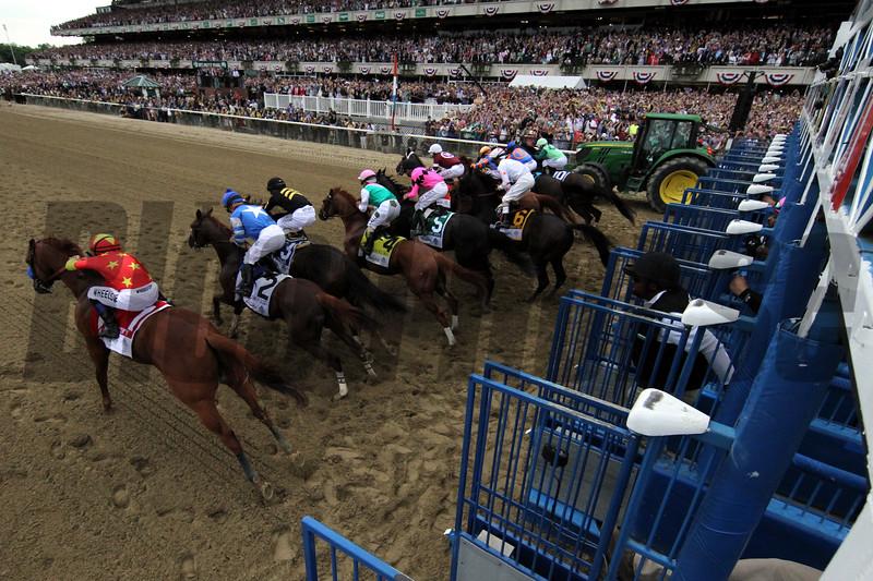 Starting Gate Remote Belmont Stakes Chad B. Harmon