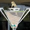 Triple Crown Trophy Belmont Park Chad B. Harmon