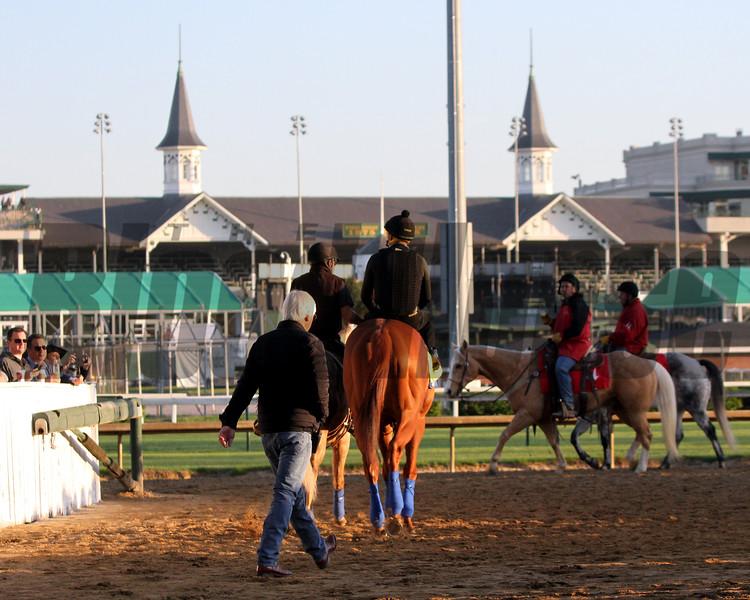 Justify Bob Baffert Kentucky Derby Chad B. Harmon