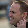 Trainer Chad Brown at Churchill Downs Wednesday May 2, 2018. Photo by Skip Dickstein