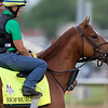 HOFBURG training in morning at Churchill Downs