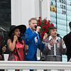 Pentatonix singing the National Anthem on Kentucky Derby Day at Churchill Downs on May 5, 2018.