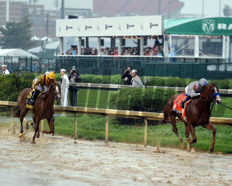 Justify, Mike Smith, Kentucky Derby, G1, Churchill Downs, May 5, 2018, Bob Baffert