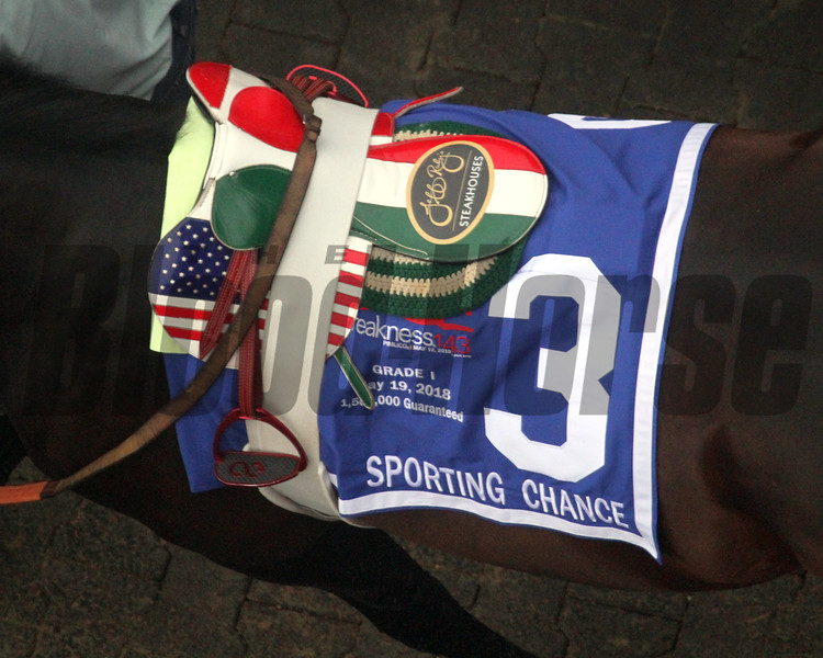 Sporting Chance Saddle Preakness Chad B. Harmon