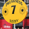 Justify Preakness Sign